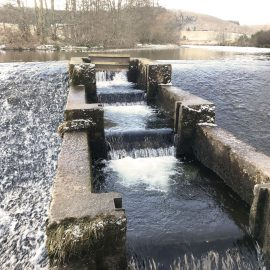 fish pass in weir